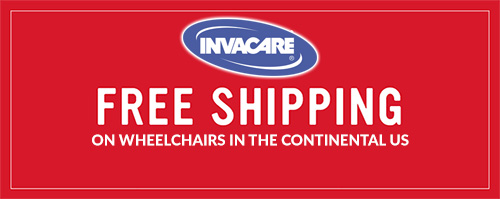 FREE SHIPPING on Invacare Wheelchairs