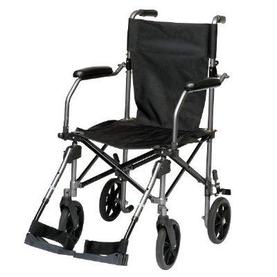drive medical travelite 18 transport chair with carry bag. Black Bedroom Furniture Sets. Home Design Ideas