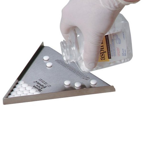 Triangular Tablet Amp Pill Counter Tablet Counting Tray