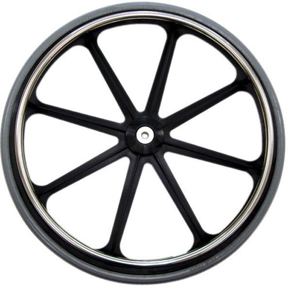 Mri Non Magnetic 24 Rear Wheel Complete For 7 16 Axle 18