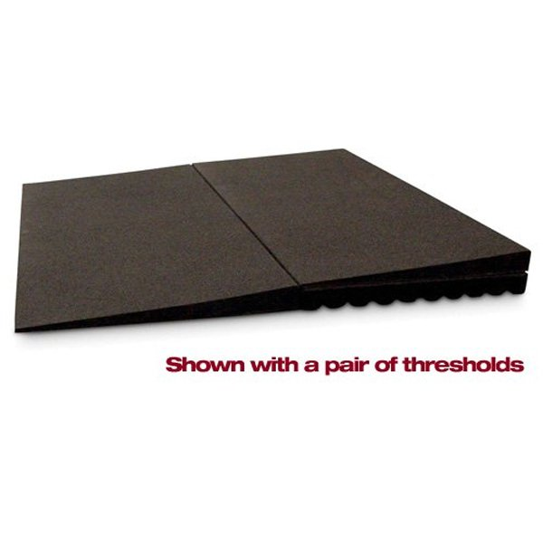 Ez access rubber threshold ramp