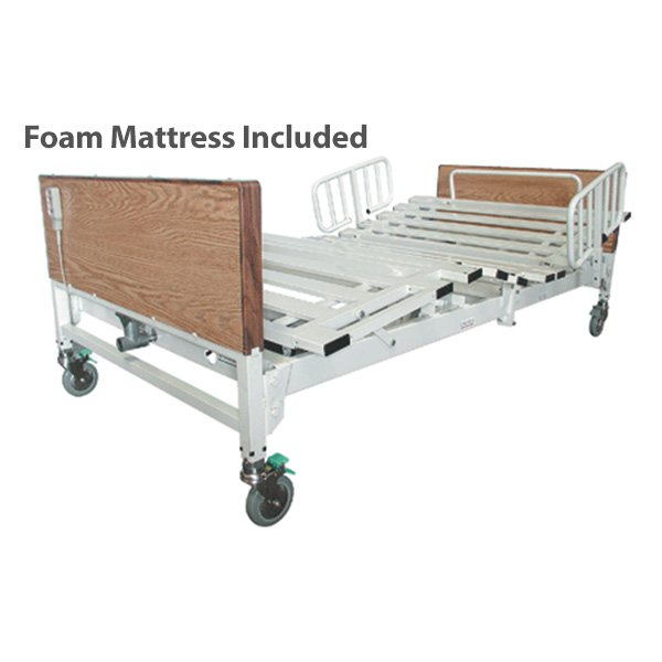 Tuffcare Bariatric Bed Complete - T5000 with Foam Mattress - 60 x 80