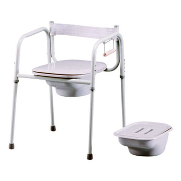 3-in-1 Commode with Elongated Seat - Weight Capacity 400 lbs.