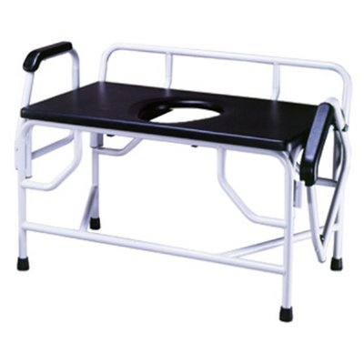 Drive Extra Large Heavy Duty Drop Arm Commode Weight