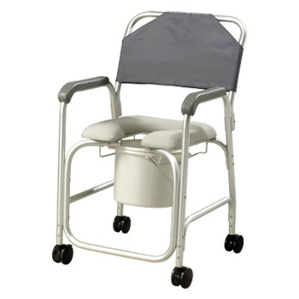 Aluminum Shower Chair with Casters