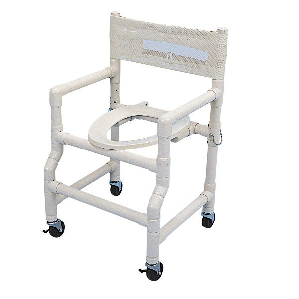18 Wide Folding Shower mode Chair with Elongated