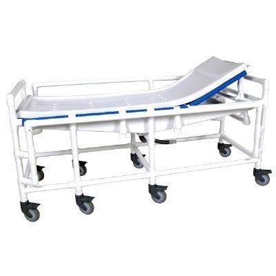 Pvc Adjustable Back Bariatric Shower Gurney