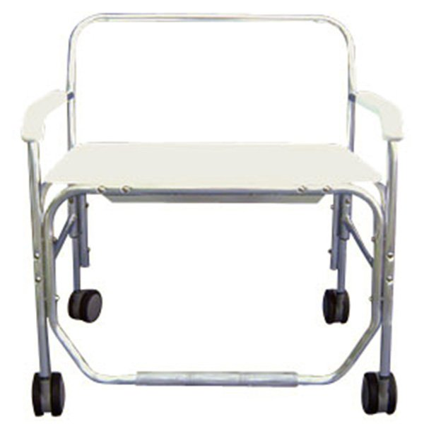 Heavy Duty Shower Commode Chair Without Opening Removable Arms