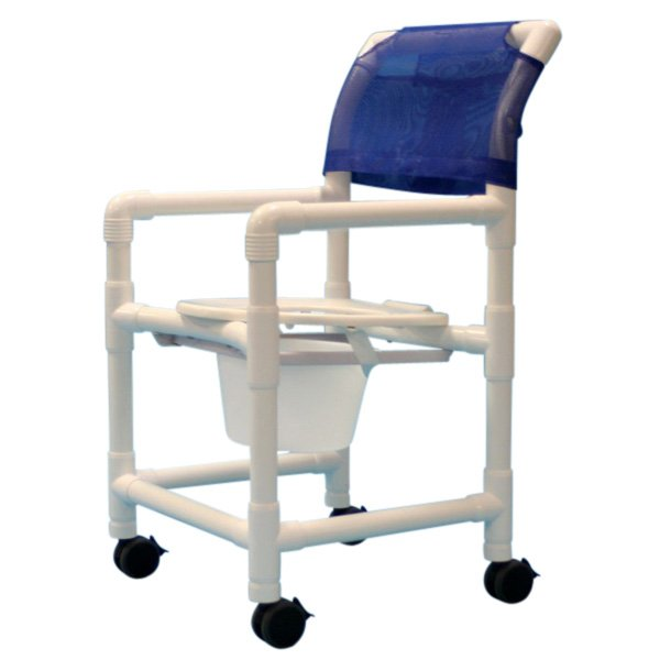 Shower Chair Pvc W O Footrest Care