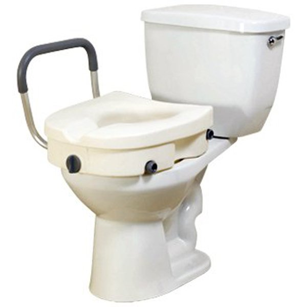 Drive 2 In 1 Locking Elevated Toilet Seat