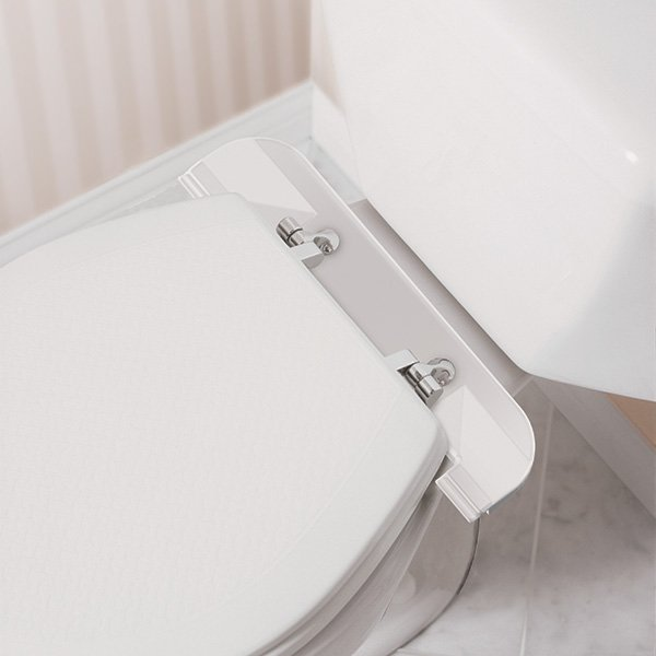 Moen Elevated Toilet Seat with Support Handles