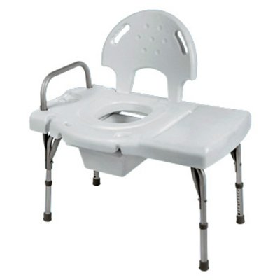 Invacare Transfer Bench With Commode Opening Weight Capacity 400 Lbs