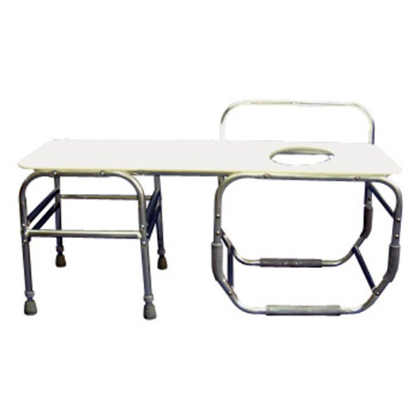Excellent Heavy Duty 20 Seat Depth Bathtub Transfer Bench Seat On Left With Commode Opening Beatyapartments Chair Design Images Beatyapartmentscom