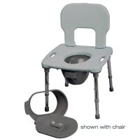 Splash Guard For Bath One Shower Commode Chair