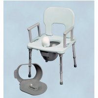 Commode Chair Parts, Replacement Seats, Pails, Splash Guards and Backs
