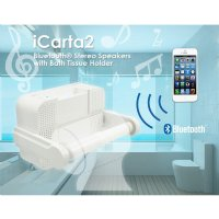 Icarta Stereo Dock For Ipod Bath Tissue - Icarta-ipod-dock-and-toilet-roll-dispenser