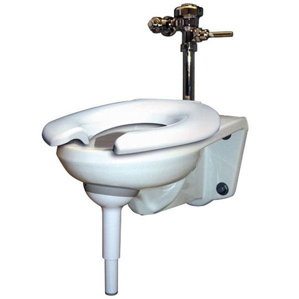 Big John Toilet Support For Wall Mounted Toilets