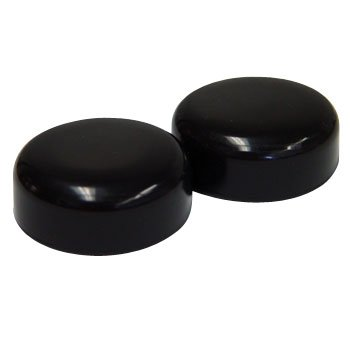 Glide Caps For Walker Legs Black Fit Lumex Tips 1 9 16 Quot Od