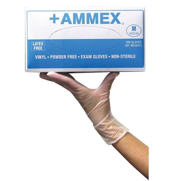 Powder Free Vinyl Gloves 10 Boxes Per Case Choose Size