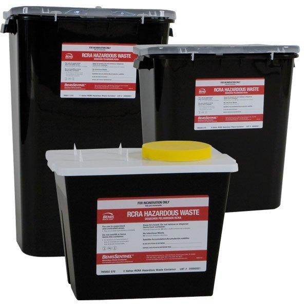 rcra hazardous pharmacy waste containers