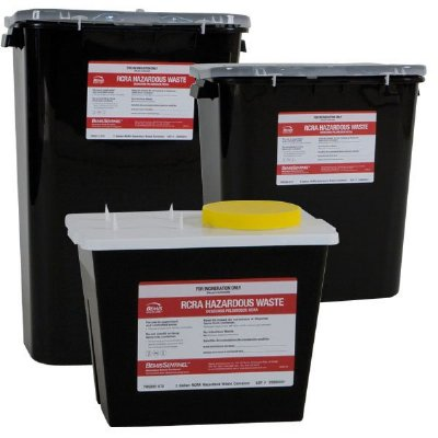 Rcra Hazardous Pharmacy Waste Containers