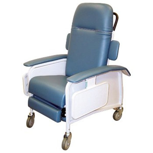 Drive Medical Clinical Care Recliner, Blueridge