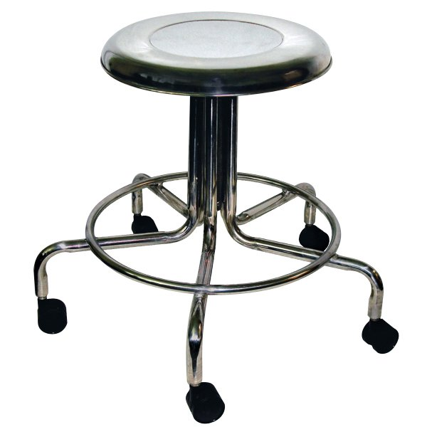 mri non magnetic adjustable height doctor stool with 2 casters 15 to 21. Black Bedroom Furniture Sets. Home Design Ideas