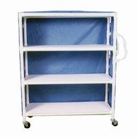 Non Magnetic Mri Pvc Linen Multi Use Cart 3 50x20 Shelves