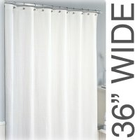 36 Wide Sure Chek Shower Curtains