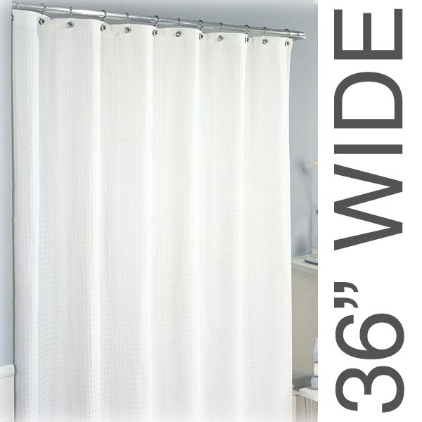 Curtains Ideas 36 wide shower curtain : 36W x 75L Sure Chek Shower Curtain, Color Choice