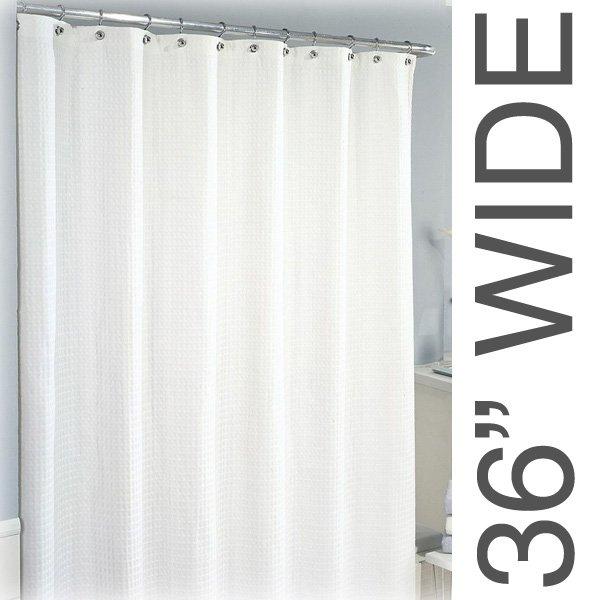 36W X 75L Sure Chek Shower Curtain Color Choice