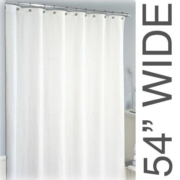54W X 90L Sure Chek Shower Curtain Color Choice