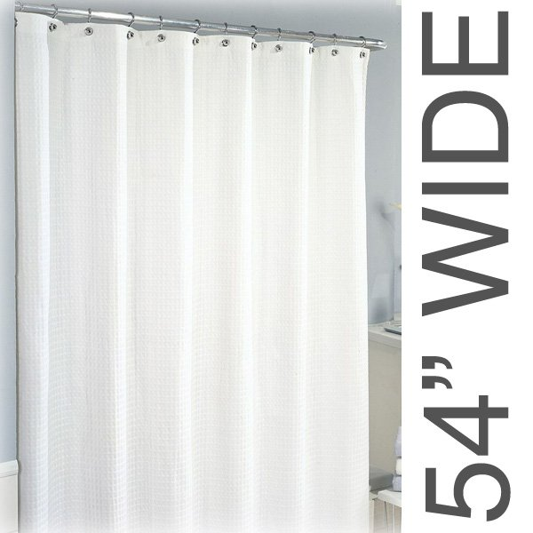 54W X 75L Sure Chek Shower Curtain Color Choice