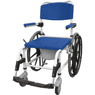 Drive Medical Aluminum Shower mode Mobile Chair with 24