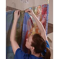 EZE Swap™ Snap On Hospital Curtain System