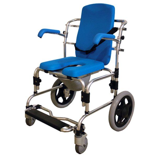 Baltic Transporter Shower Commode Chair
