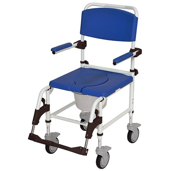 Drive Medical Aluminum Rehab Shower mode Chair with 5