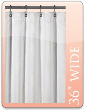 Pink Ombre Shower Curtain 10-Gauge Vinyl Shower Curtain