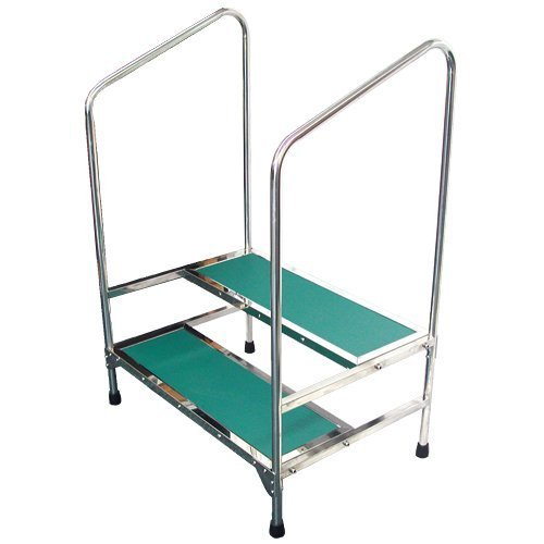 Sensational Safety Double Step Stool With Hand Rails Dailytribune Chair Design For Home Dailytribuneorg